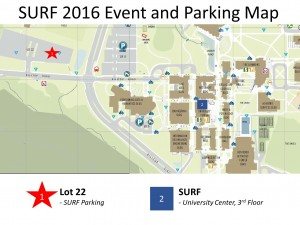 Parking and Event Map 2016